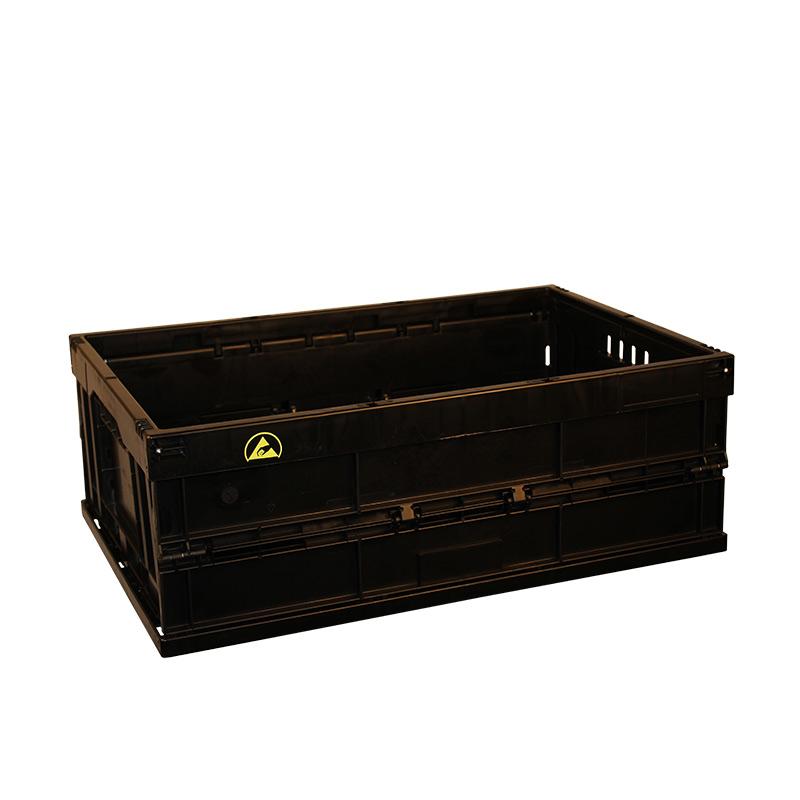 20L Folding Box, ESD, Black