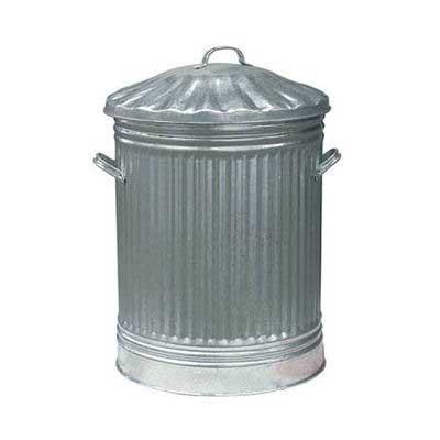 General Purpose 90ltr Galvanised Dustbin