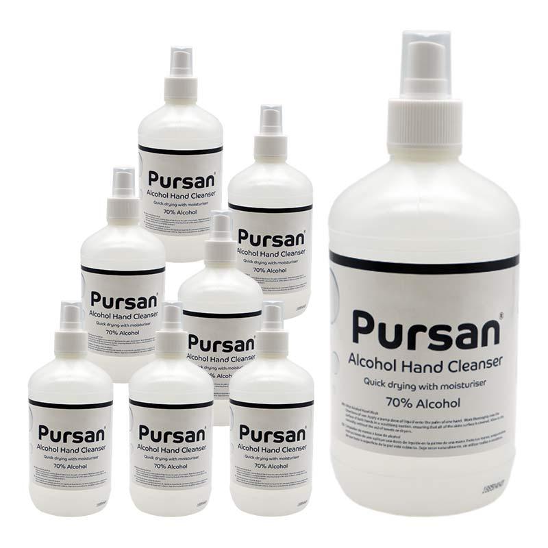 Hand Cleanser 500ml Spray Bottle (pack of 8)