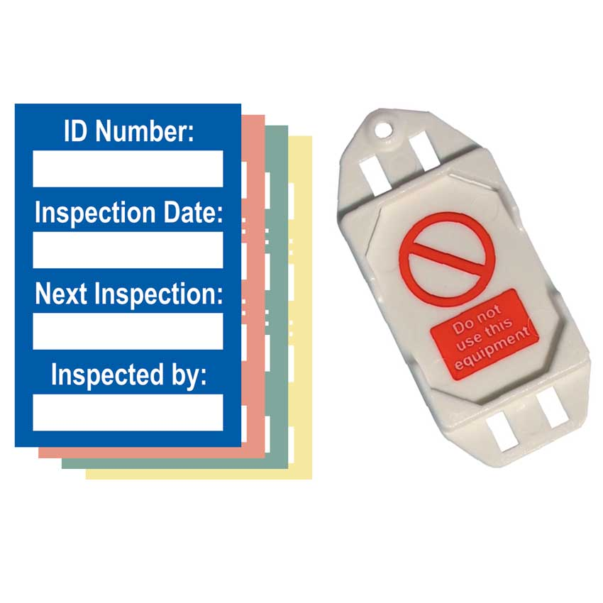 Harness Inspection Mini Tag Insert - (Pack of 20)