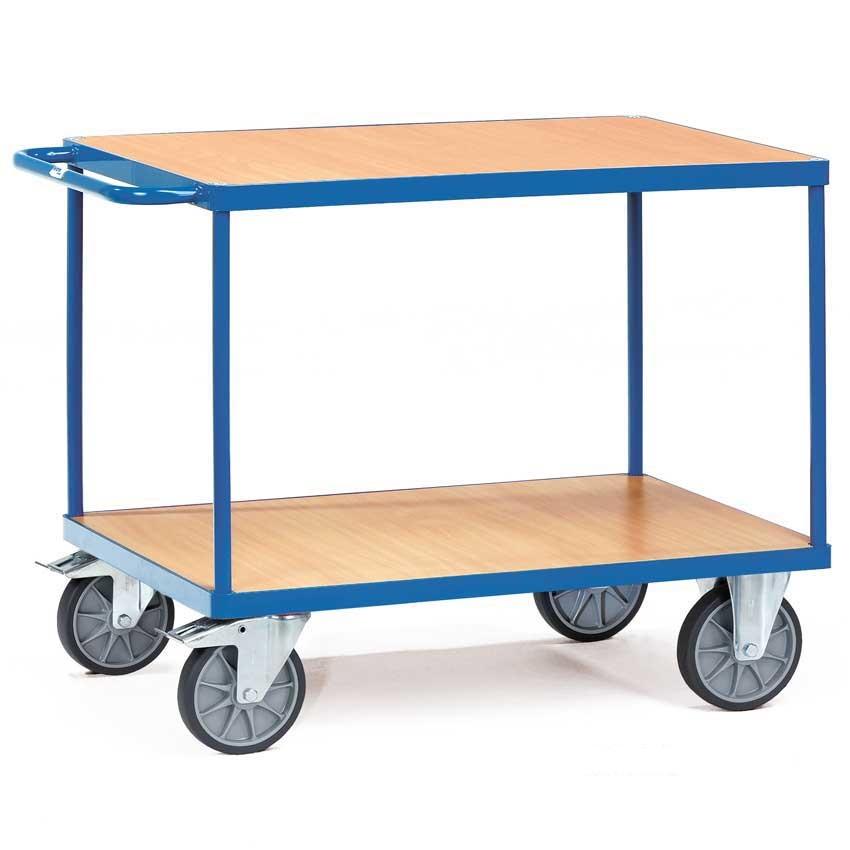 Heavy Duty Two Shelf Table Top Cart 1000 x 700mm  600kg Capacity