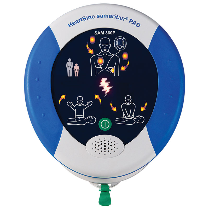 HeartSine® Samaritan® PAD 360P Fully Automatic Defibrillator
