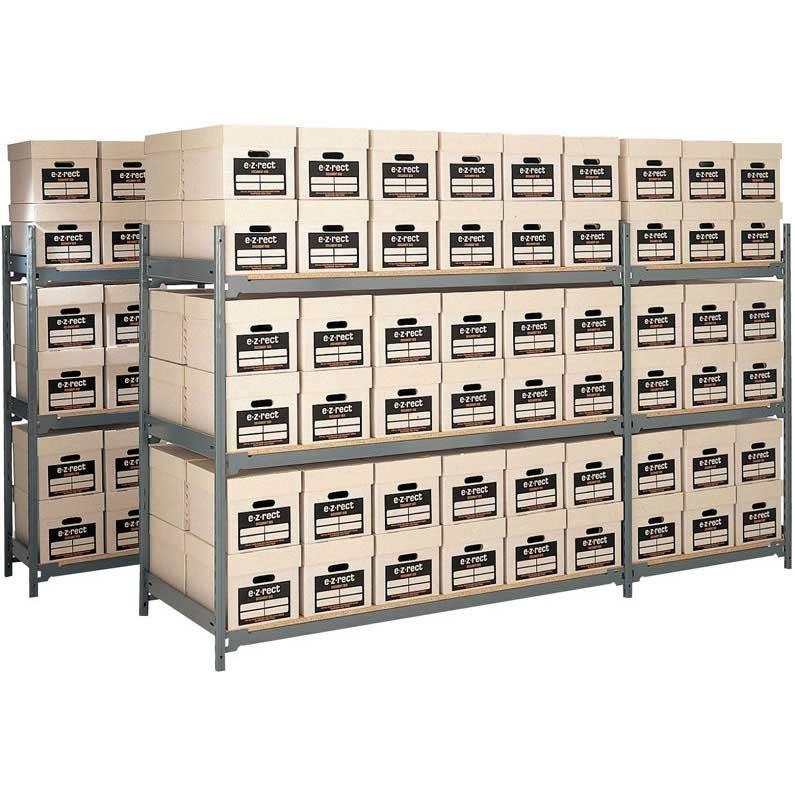 HD Archive Storage 6 Boxes High  48 Box Starter 1220w x 762d
