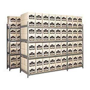 HD Archive Storage 8 Boxes High  40 Box Extension 1525w x 381d