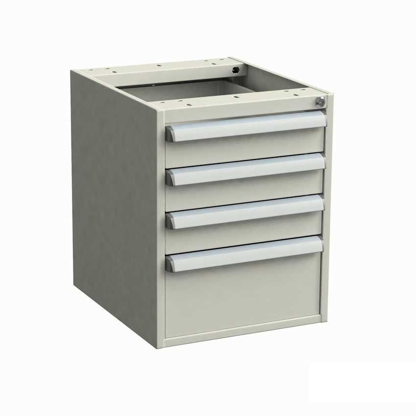 H/D ESD Single drawer unit 450 x 520 x 140mm