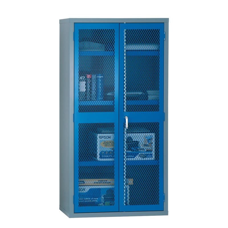 Hinged Mesh Door Security Cabinets