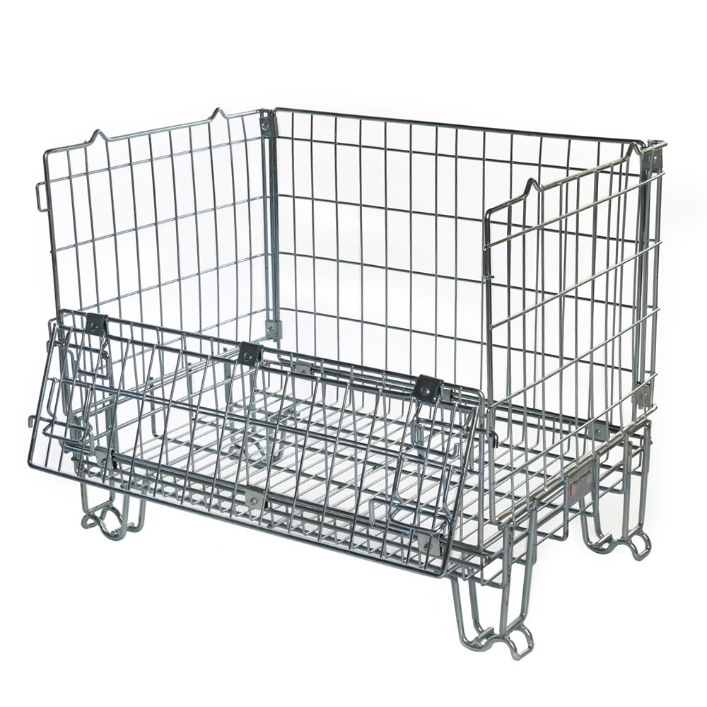 Hypacage Stackable Mesh Pallet Cages Ese Direct
