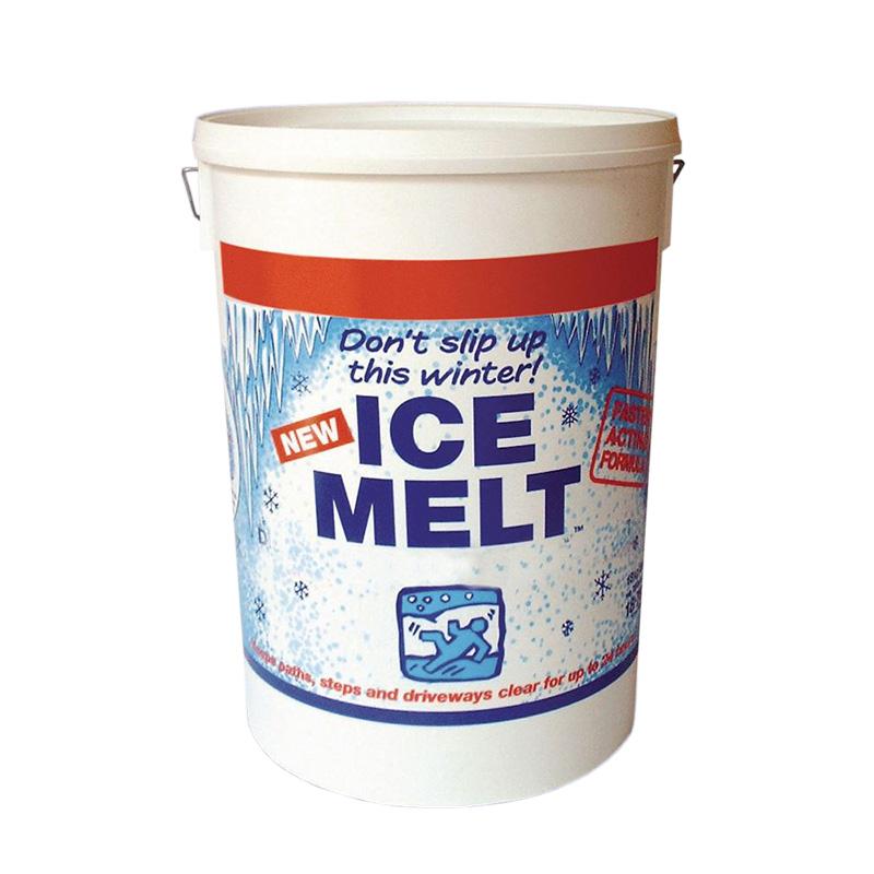 Ice Melt Tubs and Bag