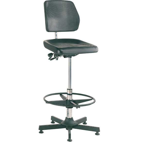 Bott Industrial Moulded Chair, High-Lift with Foot Ring