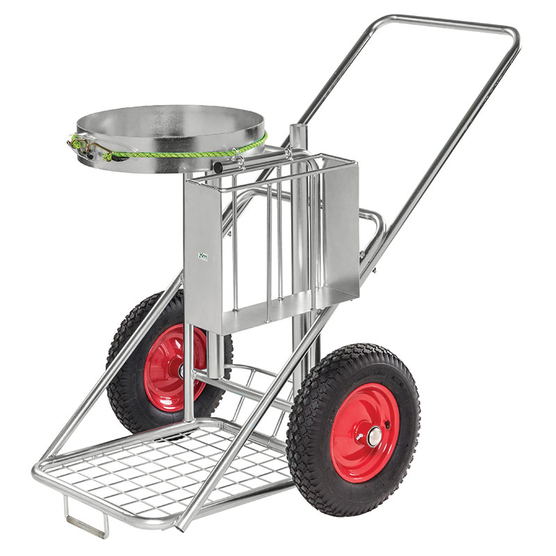 Janitorial Street Cleaning Trolley