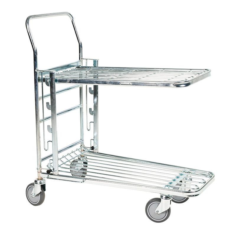 Kongamek Adjustable Level Stock Trolley