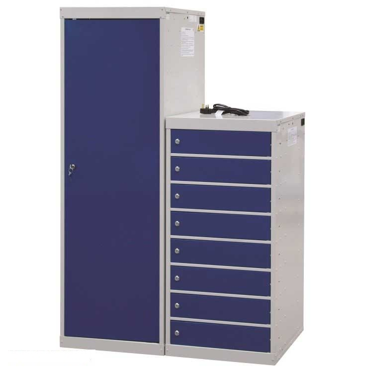 Laptop Charging Locker 8 Compartment 8 Door 1000 x 500 x 500