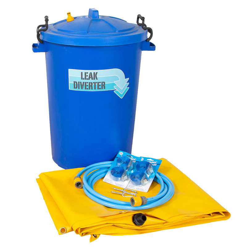 Leak Diverter Kit with 80L Collection Drum