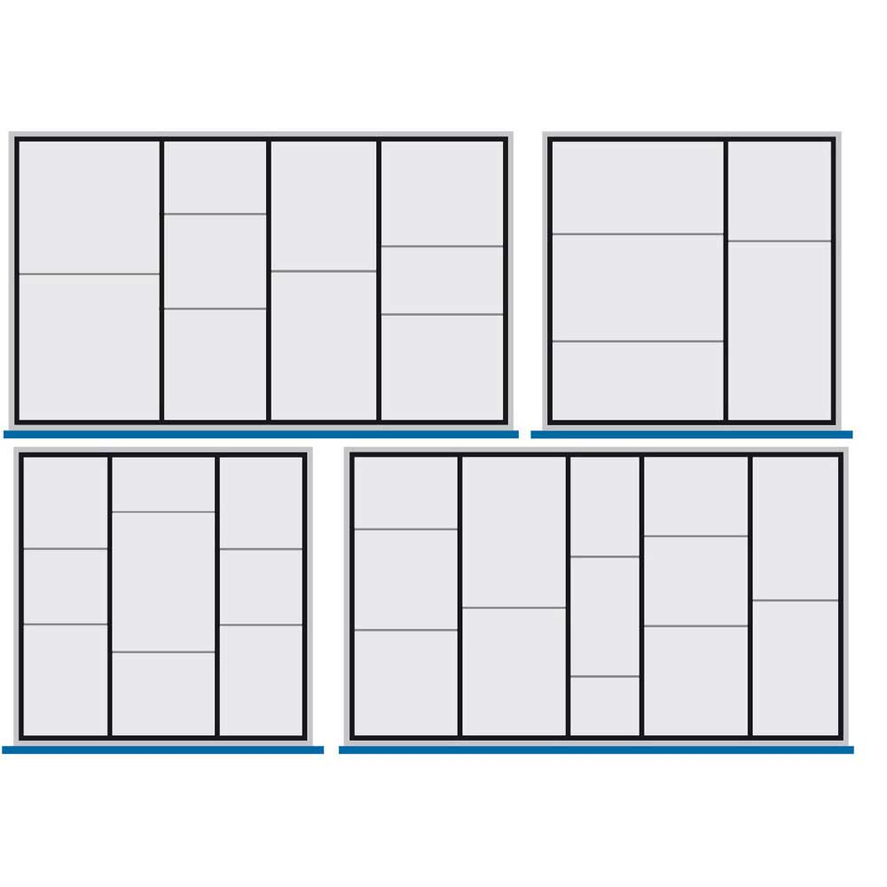 Bott Metal Drawer Divider Sets for inside of Drawers