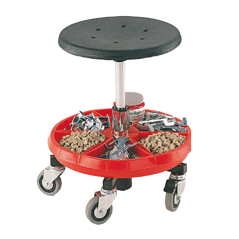 Bott Mobile Workshop Work Stools with parts tray