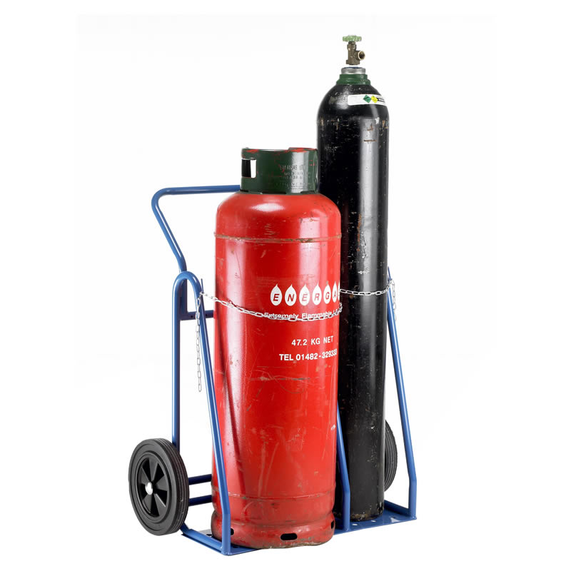 Oxygen Amp Propane Twin Cylinder Trolleys Ese Direct