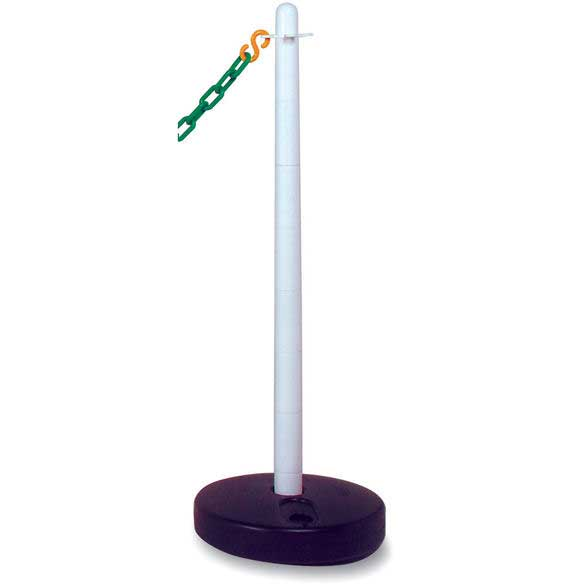 Plastic Post with circular water filled base