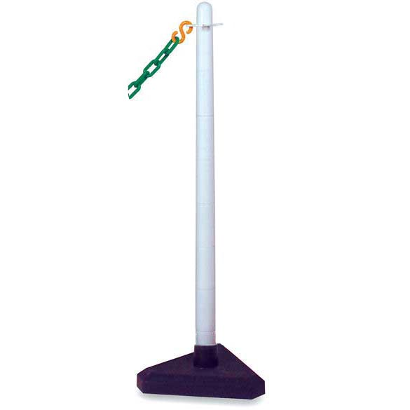 Plastic Post with triangular weighted base