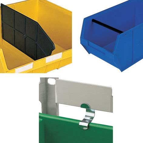 Container Dividers for CP6 Plastic Storage Container (Pk 10)