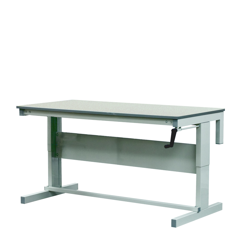 Height Adjustable Workbenches with Laminate Top 1800w x 750d Bench