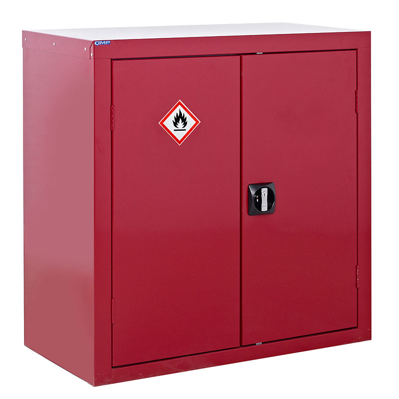 Red Flammable Liquid Storage Cupboards