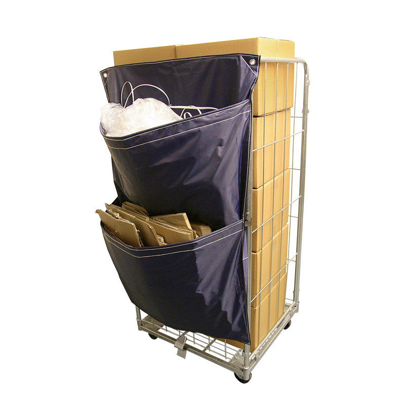 Rollcagesack Recycling Waste Sacks Pack of 5, Blue