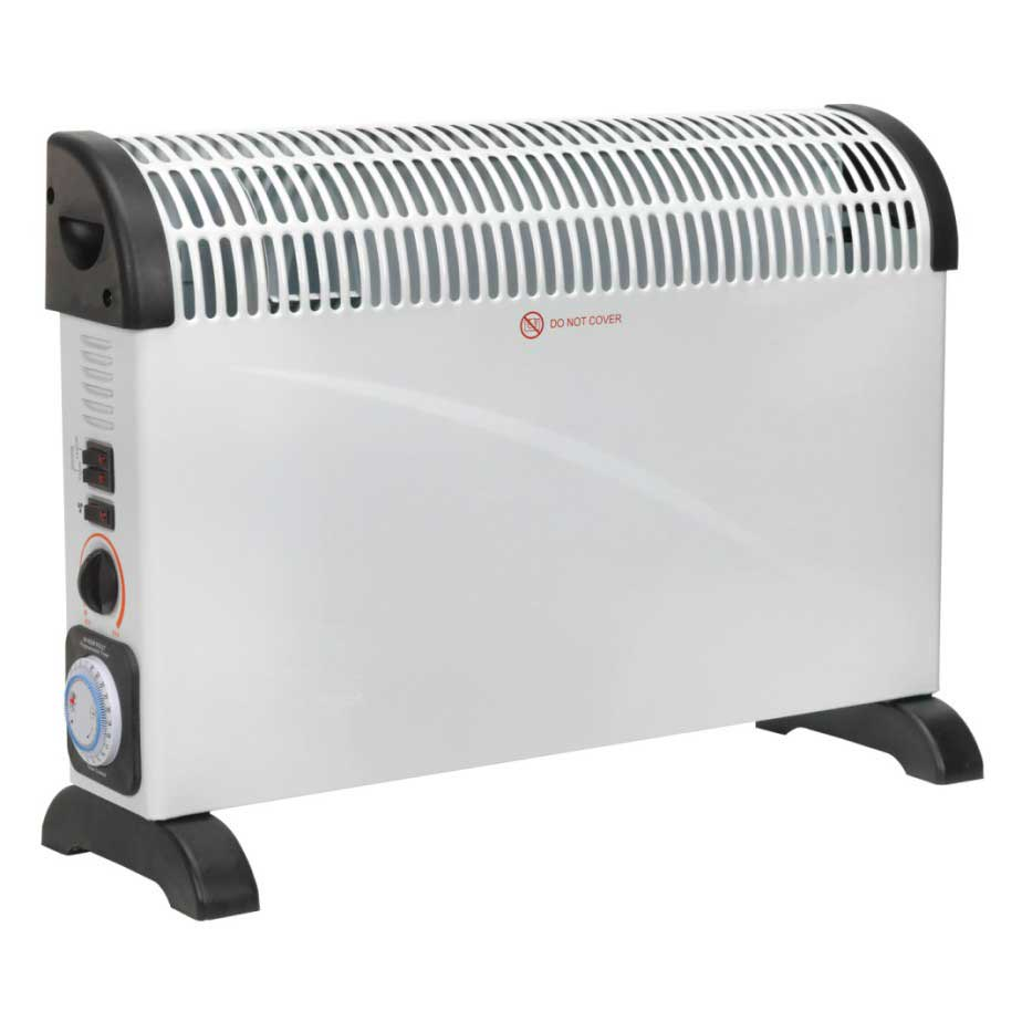 Image of Sealey Convector Heater 2000W With Turbo Fan & Timer