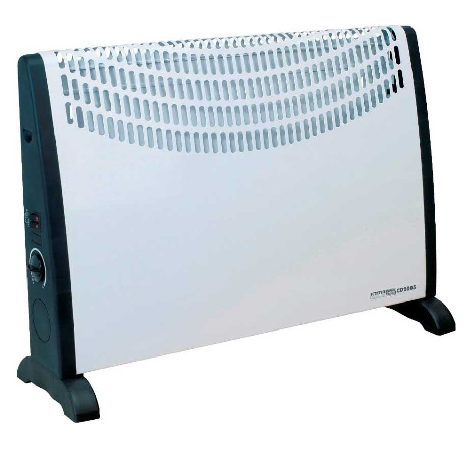 Image of Convector Heater 2000W With 3 Heat Settings & Thermostat