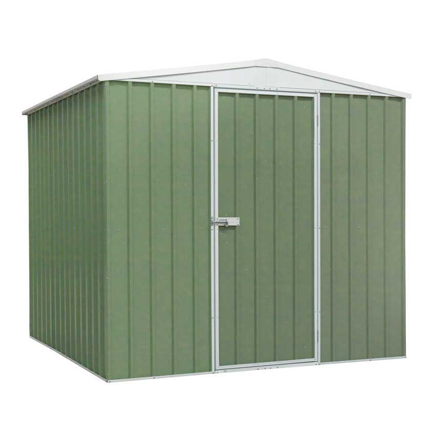 Sealey Galvanised Steel Shed Green  2300 W x 2300 D x 1900 H mm