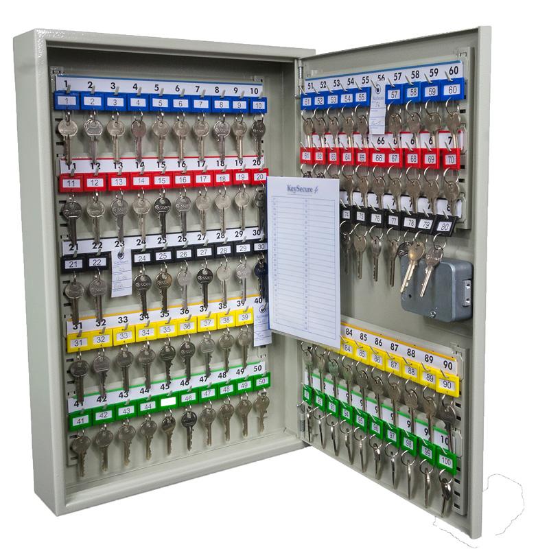 Heavy-Duty Key Security Cabinets 20 to 600 key capacity