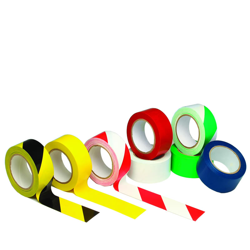 Self-Adhesive Floor Marking Tapes 50mm and 75mm Wide 33m Long