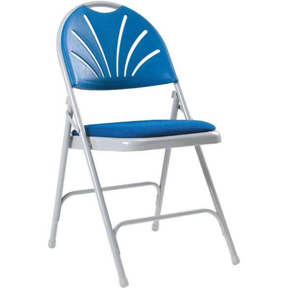 ESE Direct Series 2600 Upholstered Seat Folding Chair Pk 4