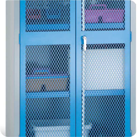Shelves, Legs, Sloping Tops etc for Mesh Security Cupboards