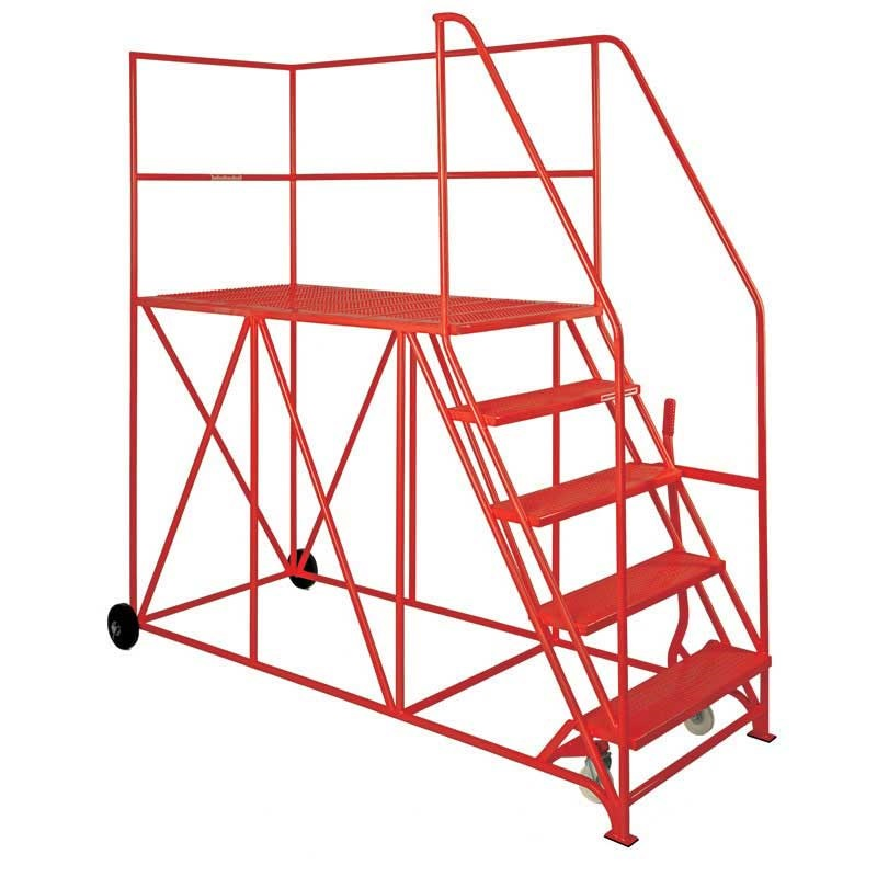 Single Side Access Platforms 3 to 10 treads, 1.5m platform depth