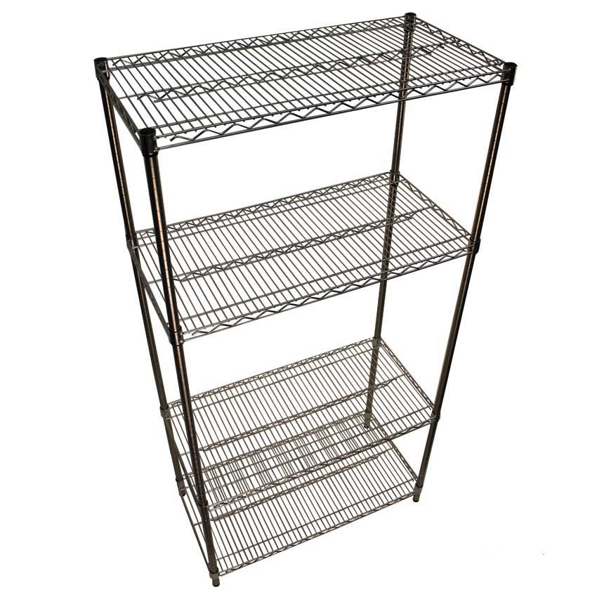 Image of Stainless steel Wire Shelving - 4 Shelves 1220w x 610d Starter Bay