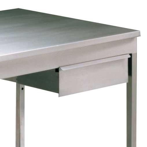 Single Stainless Steel Upper Shelf 300mmH x 1200W x 300D for Worktable