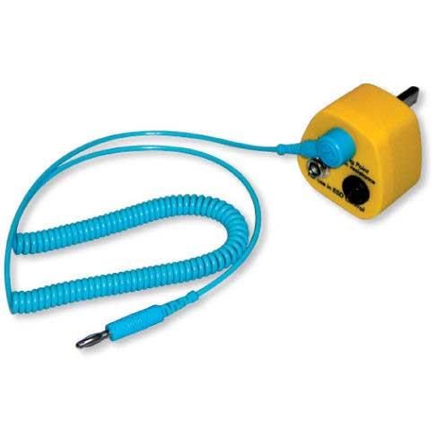 Static Control Earth Lead & 3 pin plug