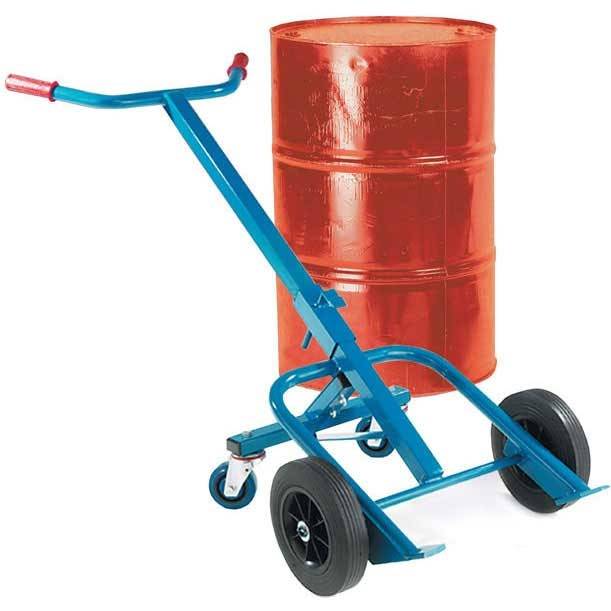 Steel Drum Carrying Truck Truck with Rear Wheels