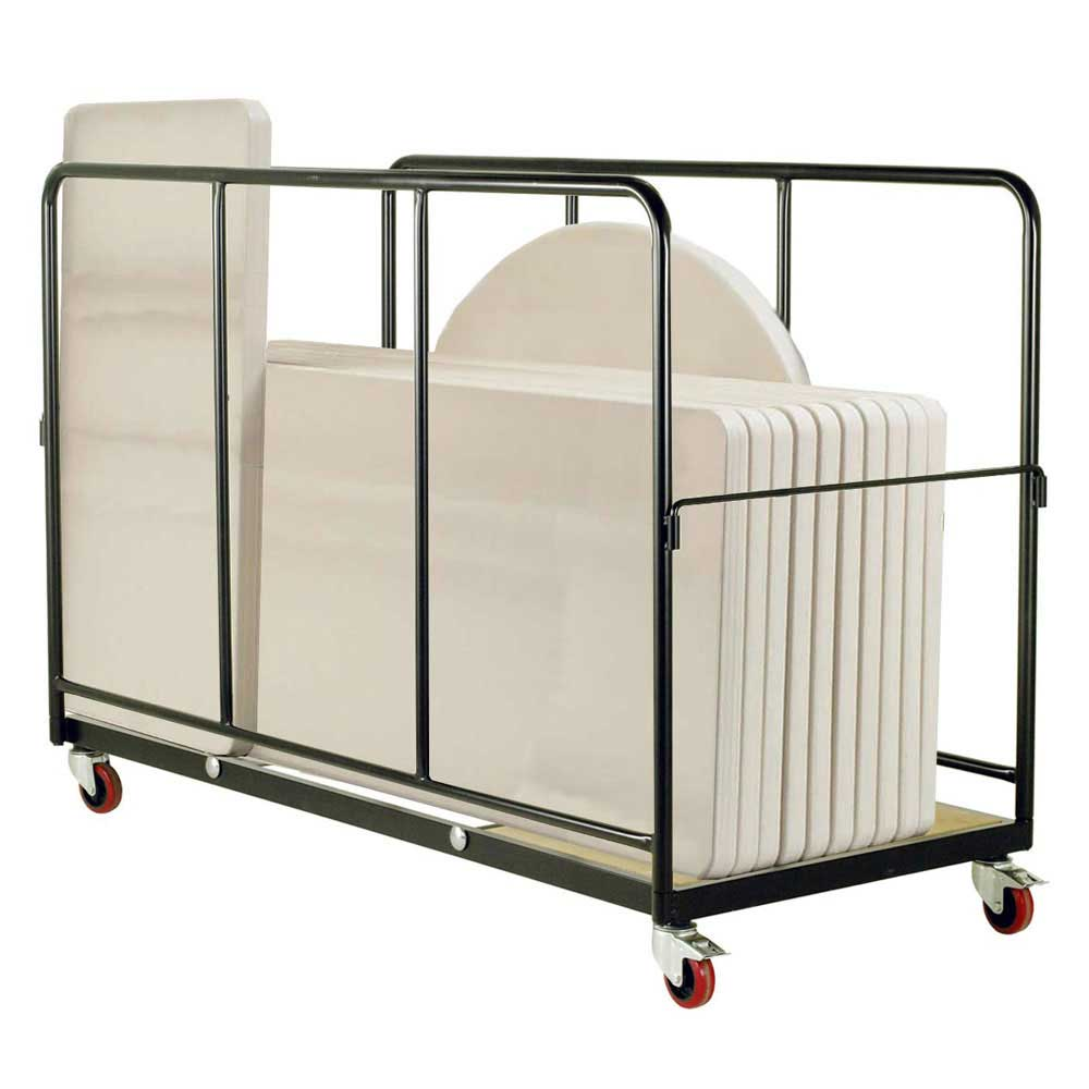 Table Trolley For Storage And Moving Of All Polyfold
