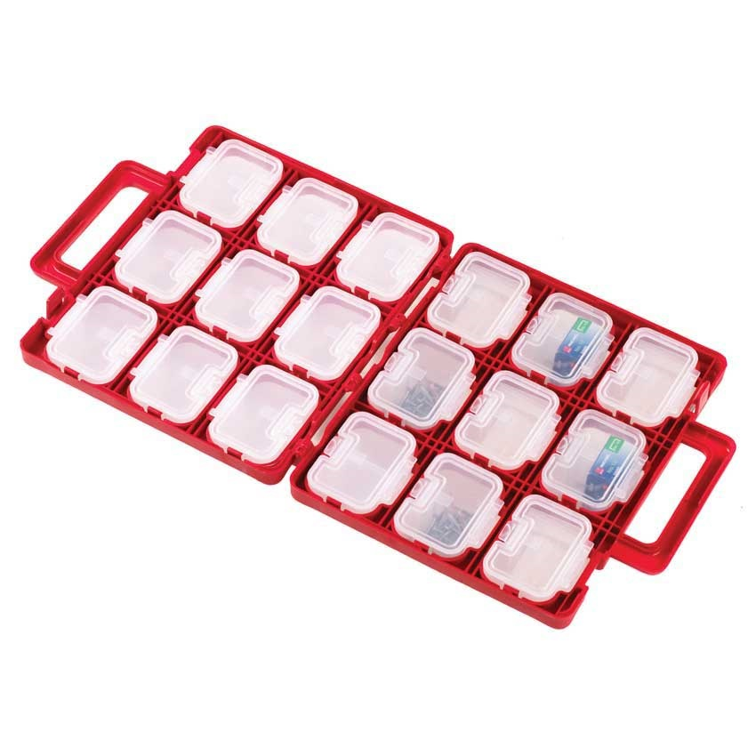The Organiser Carry Case with 18 Removable Containers