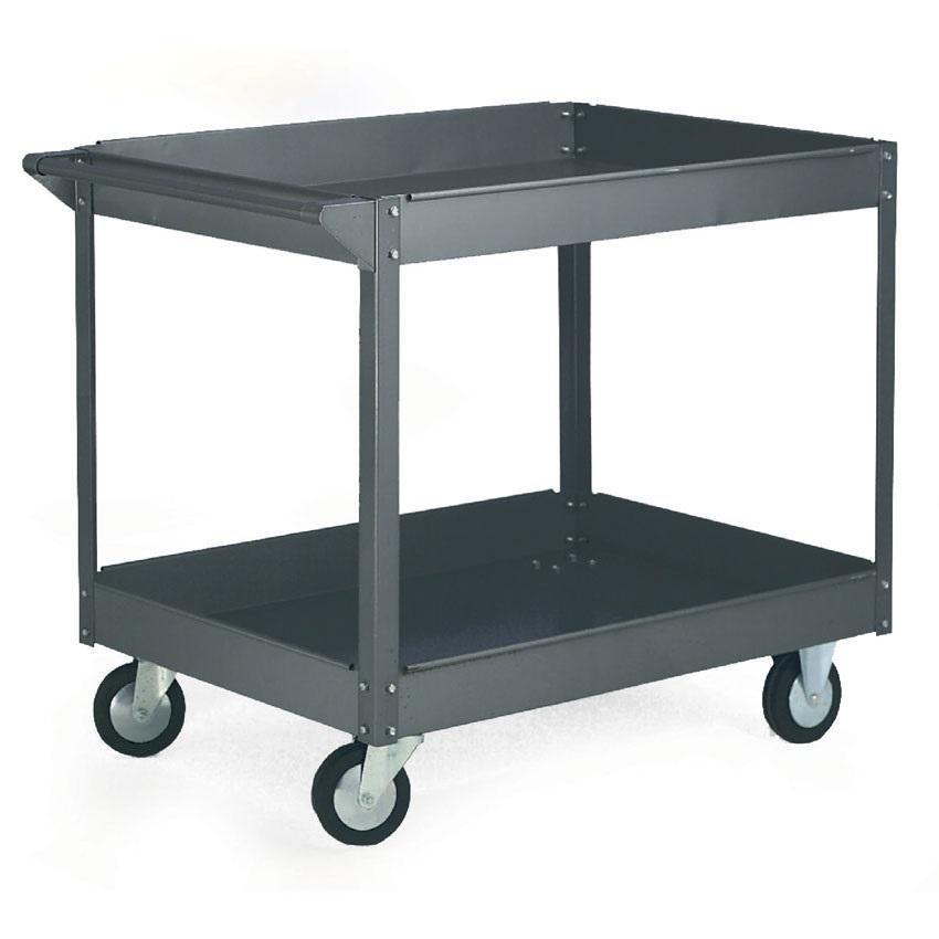 Two Shelf / Tier Budget Workshop Trolley 635w x 1015 L 250kg cap