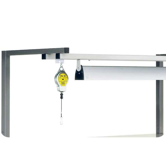 Tool & Light Support for TPH workbenches for 1200w bench