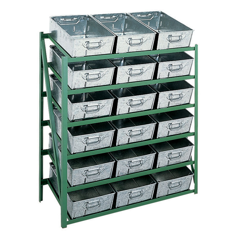 Metal and Plastic Tote Pans & Storage Racks - ESE Direct