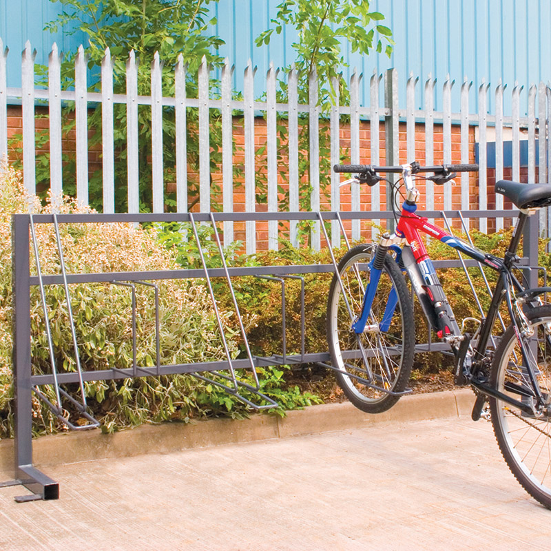 Traditional Cycle Racks for 6 or 8 Bikes