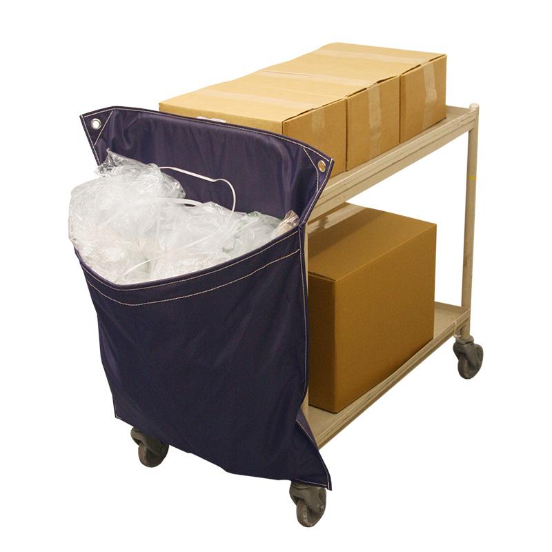 Single Pocket Racksack Trolley Recycling Waste Sacks Single Unit