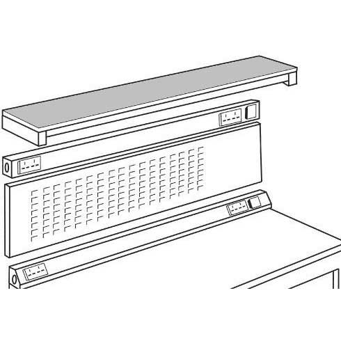 Upper Shelf Lamstat for ESD 1200 wide bench
