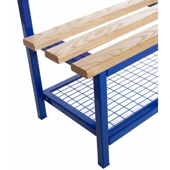 Evolve Mesh Shoe Rack for 1.0m wide Evolve Duo Benches