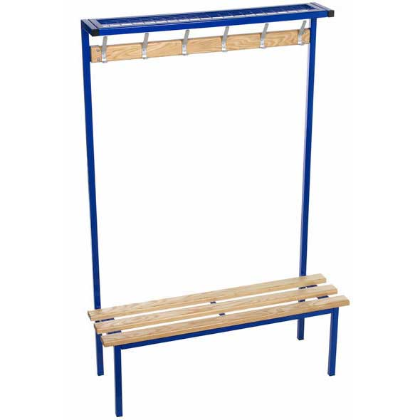 Evolve Solo Changing Room Bench with Mesh top shelf