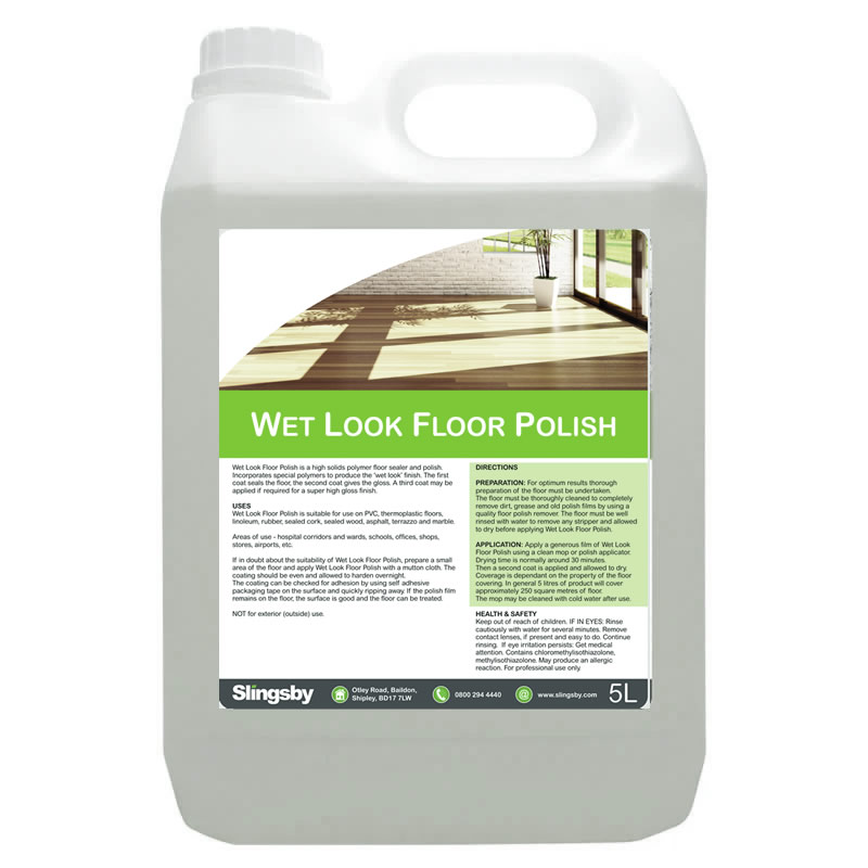 Wet Look Floor Polish