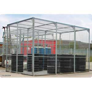 Maxibox Secure Mesh Storage Enclosures / Cages